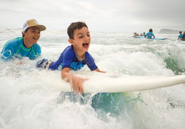 Surfing the Spectrum Program